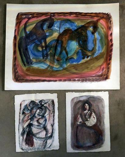 Magdalena RADULESCU (1902-1982/83)  Trois...