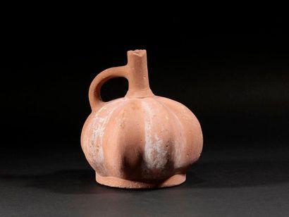 Vase coloquinte  Terre cuite  Culture Lambayeque...