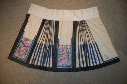Mang Qun ou jupe tablier, Chine, dynastie...
