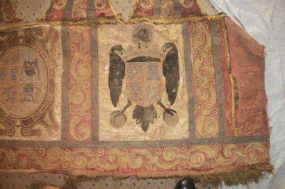 Bandeau style Renaissance, décor d'armoiries...