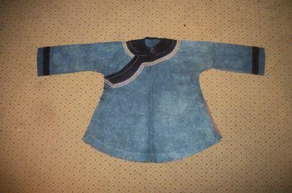 Veste Miao, Chine, d'après le modèle d'une veste informelle de femme Han, coton...