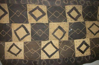 Pagne Tchak du Kasaï, Congo, assemblage de...