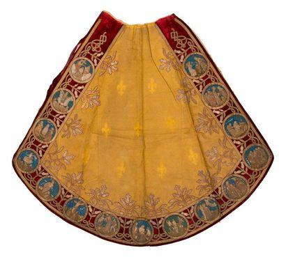 Manteau de statue, fin XIXème siècle, drap...