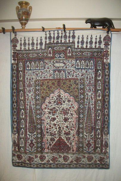 Kalamkari, Perse, XIXème siècle, coton imprimé...
