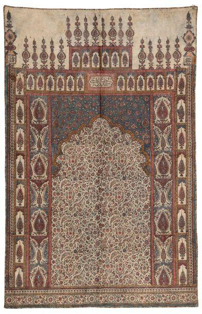 Perse, XVIIIème siècle, coton imprimé à la...