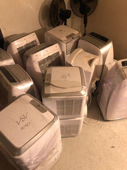 Lot de 10 climatiseurs