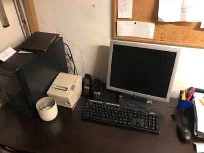 1 unité centrale MAXINPOWER + 1 écran VIEWSONIC,...