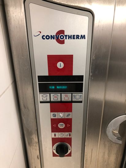 CONVOTHERM rotary heat oven. Dimensions: 100 x 96 x 81cm