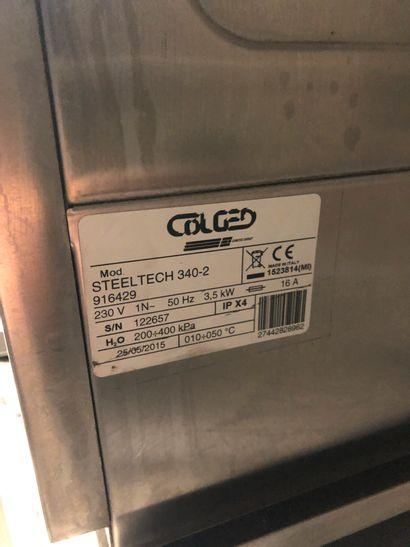 "Glass washer COLGED ""Techsteel""  62x43x54cm"