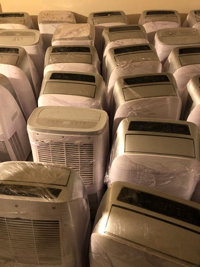 Lot de 12 climatiseurs