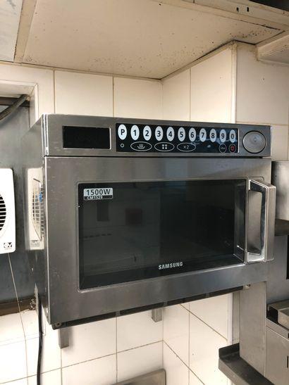 SAMSUNG Professional Microwave