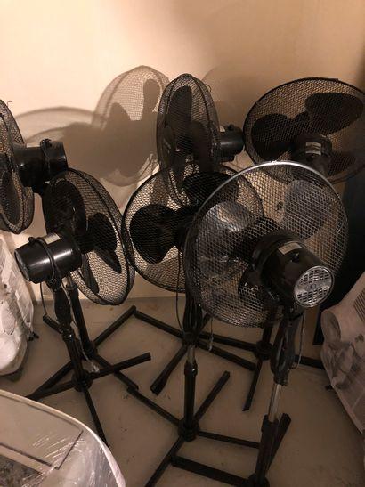 Lot de 6 ventilateurs