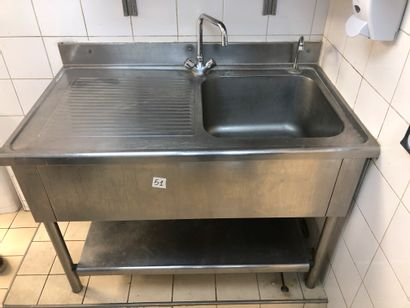 1 sink mixer tap + pedal, with bench top