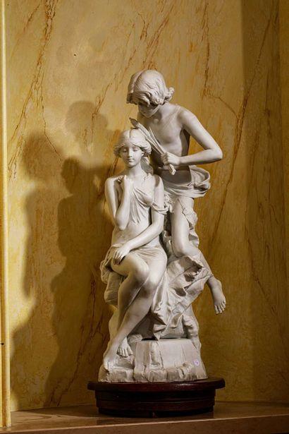 D'après Edouard Drouot (1859-1945)  Sculpture...