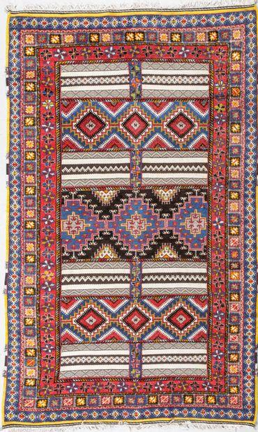 Original et grand tapis Rabat (Nord Atlas...