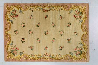 Grand tapis au point de Janus ( atelier du...