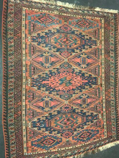 Ancien Soumak (Caucase) fin XIXème.  Dimensions...