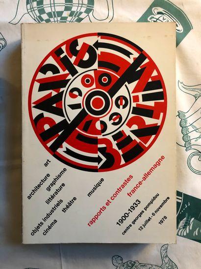Catalogue de l'exposition PARIS-BERLIN 1900-1933,...