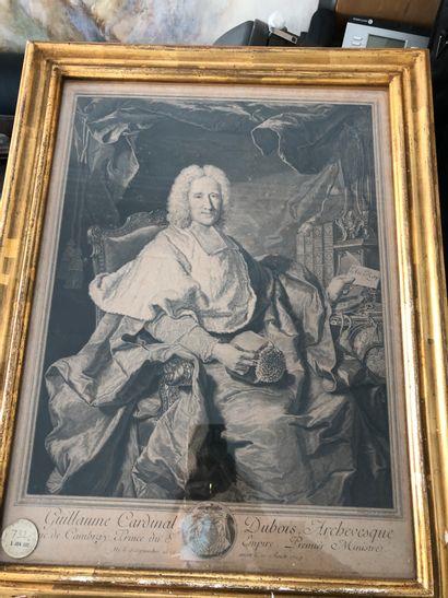 d'Après Hyacinthe Rigaud  Portrait de Guillaume...