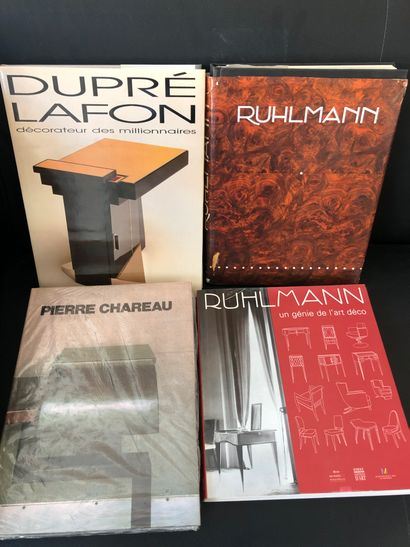 Rare ensemble de monographies comprenant:...