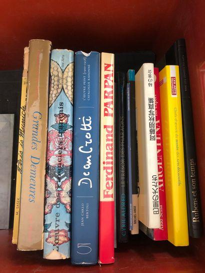 Réunion de beaux livres dont :    Grandes...