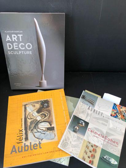A.DUNCAN, Art Deco Sculpture, Ed. Citadelles...