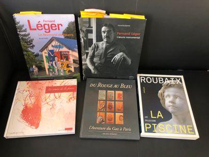 Lot comprenant  B.NOEL, Fernand LEGER un...