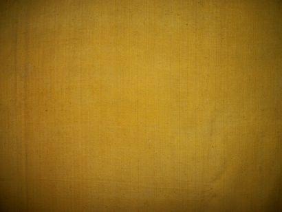 Métrage de bourrette jaune vieil or, Provence,...
