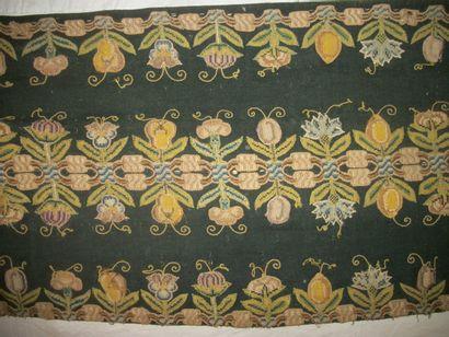 Bandeau, Angleterre, XVIIème siècle, drap...