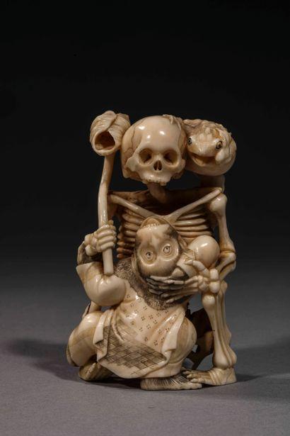 Japon, fin du XIxe siècle ou début du XXe...