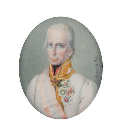 Beniezsky, circa 1816-1820. FRANCOIS Ier,...