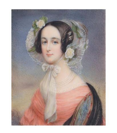 Ambrose Duval, circa 1840. MARIE-ANNE DE...