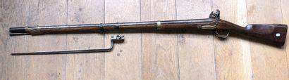 Fusil à silex de dragon modèle An IX.  Canon...
