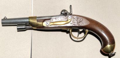 Pistolet d'arçon modèle 1822 TBis construit...