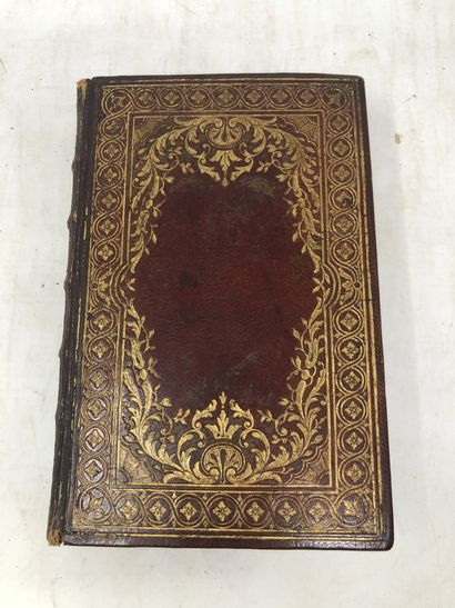 Almanach royal de l'année, 1784 (abimé)