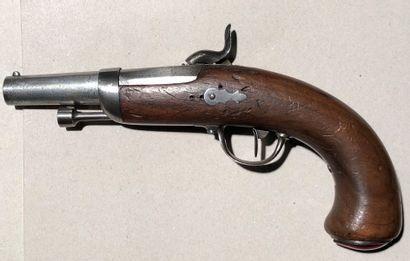 Pistolet à percussion modèle 1836 d'officier...