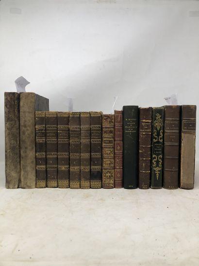 LOT VENDU AVEC LE 19 Lot de livres reliés...