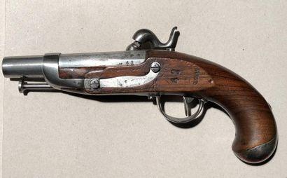 Pistolet à percussion de gendarmerie, modèle...