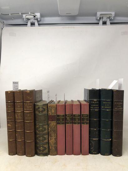 Lot de livres reliés et brochés comprenant...