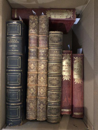 Lot de trois livres:  - Sazerac