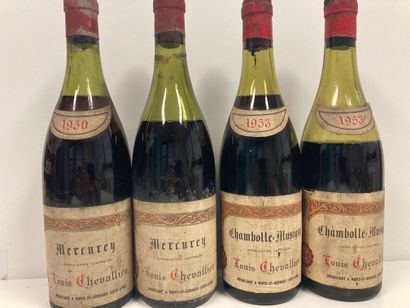 BOURGOGNECHAMBOLLE MUSIGNY LOUIS CHEVALLIER...