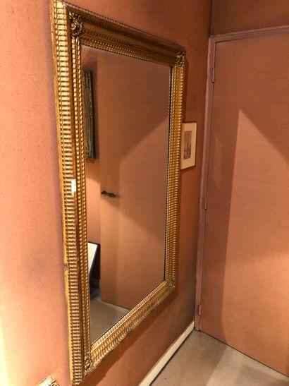 miroir mural de forme rectangulaire, dans...