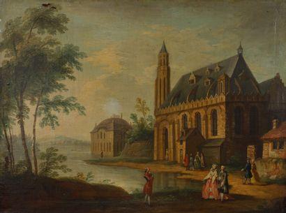 Ecole Allemande du début XVIIIème siècle...