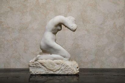LAETHIER, Georges (1875-1955) :  Eve  Sculpture...
