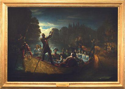 Joachim Issarti, c. 1840. LE RETOUR...