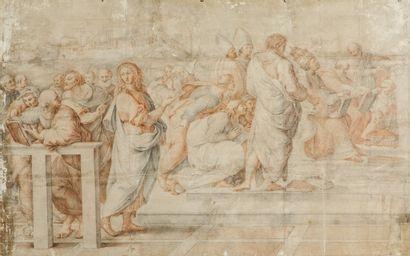 École italienne du XVIIe siècle d'après Raphaël...