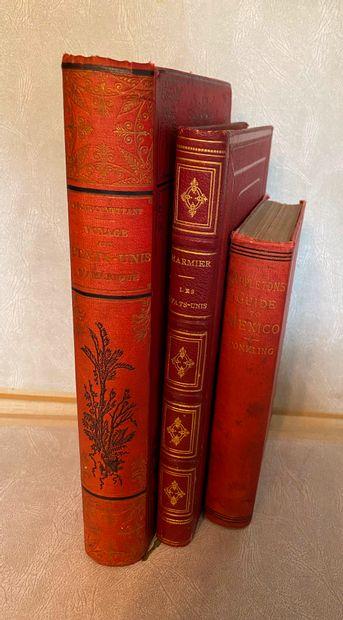 [Etats-Unis - Mexique] Lot de 3 ouvrages...