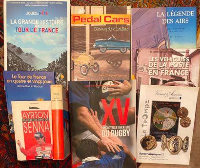 [Bibliographie Sports] Lot de 10 ouvrages...