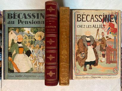[ENFANTINA] Lot de 4 ouvrages d'enfantina...