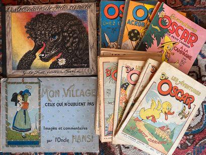 [ENFANTINA] Lot de 22 ouvrages d'enfantina...